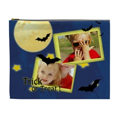 Trick Of Treat By Joely   Cosmetic Bag (xl)   U2qgsa3o309l   Www Artscow Com Front