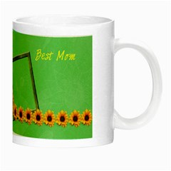 Best mom luminous mug by Elena Petrova Right
