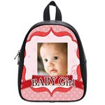 baby girl - School Bag (Small)