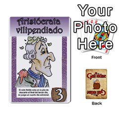 Guillotine (3) By Roi   Playing Cards 54 Designs   Qwulzoujopdb   Www Artscow Com Front - Spade4