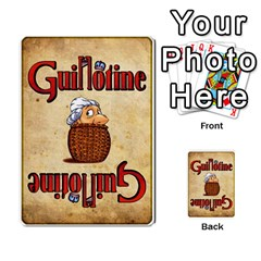 Guillotine (2) By Roi   Playing Cards 54 Designs   Iq9z264e28rp   Www Artscow Com Back