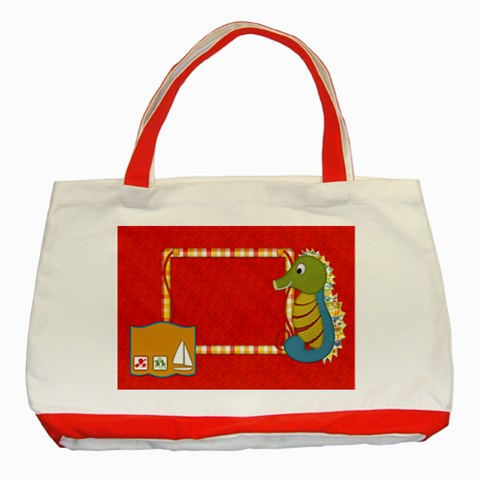 Sunshine Beach Tote 1 By Lisa Minor   Classic Tote Bag (red)   Atxot9obugmu   Www Artscow Com Front
