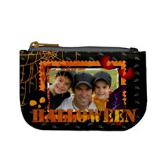 Halloween By Joely   Mini Coin Purse   4utdu1pglwy1   Www Artscow Com Front
