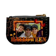 Halloween By Joely   Mini Coin Purse   4utdu1pglwy1   Www Artscow Com Back
