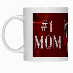 #1 Mom Mug By Lil    White Mug   1ndusg36pp1m   Www Artscow Com Left