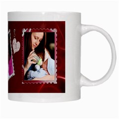 #1 Mom Mug By Lil    White Mug   1ndusg36pp1m   Www Artscow Com Right