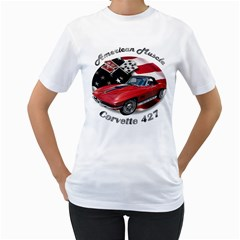 Chevy Corvette 427 Women s T-Shirt by BlueRidgeArtisans