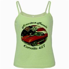 Chevy Corvette 427 Green Spaghetti Tank by BlueRidgeArtisans