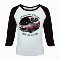 Chevy Chevelle SS 396 Kids Baseball Jersey by BlueRidgeArtisans