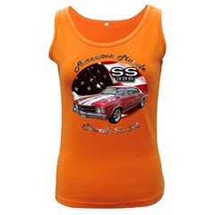Chevy Chevelle SS 396 Women s Dark Tank Top by BlueRidgeArtisans