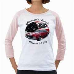 Chevy Chevelle SS 396 Girly Raglan by BlueRidgeArtisans