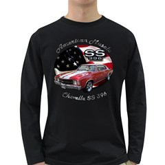 Chevy Chevelle SS 396 Long Sleeve Dark T-Shirt by BlueRidgeArtisans