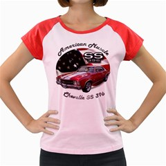 Chevy Chevelle SS 396 Women s Cap Sleeve T-Shirt by BlueRidgeArtisans