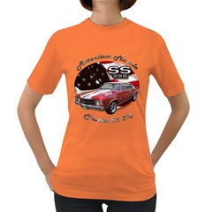 Chevy Chevelle SS 396 Women s Dark T-Shirt by BlueRidgeArtisans