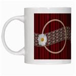 Daisy mug - White Mug