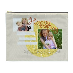 Happy Day By Joely   Cosmetic Bag (xl)   68kjqdtvylft   Www Artscow Com Front