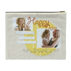 Happy Day By Joely   Cosmetic Bag (xl)   68kjqdtvylft   Www Artscow Com Back
