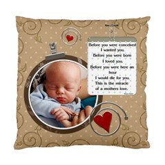 A Mothers Joy 2 Sided Cushion Case By Lil    Standard Cushion Case (two Sides)   Hgcyl1rsmwdy   Www Artscow Com Back