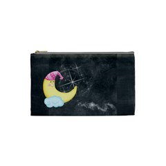 Night & Day Moon & Sun Small Cosmetic Bag By Catvinnat   Cosmetic Bag (small)   Wdduu7g26pjd   Www Artscow Com Front
