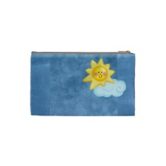 Night & Day Moon & Sun Small Cosmetic Bag By Catvinnat   Cosmetic Bag (small)   Wdduu7g26pjd   Www Artscow Com Back