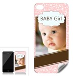 baby girl - Apple iPhone 4 Skin