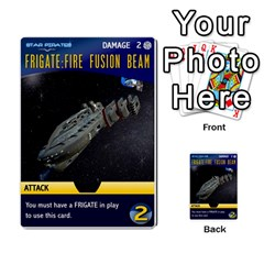Star Pirates Fleet Wars By Victor Flu   Multi Purpose Cards (rectangle)   N6jqnd7qv2gn   Www Artscow Com Front 11