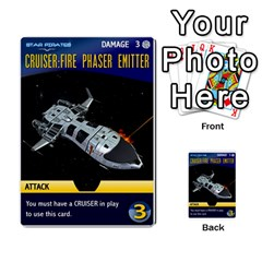Star Pirates Fleet Wars By Victor Flu   Multi Purpose Cards (rectangle)   N6jqnd7qv2gn   Www Artscow Com Front 15