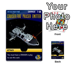 Star Pirates Fleet Wars By Victor Flu   Multi Purpose Cards (rectangle)   N6jqnd7qv2gn   Www Artscow Com Front 18