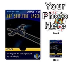 Star Pirates Fleet Wars By Victor Flu   Multi Purpose Cards (rectangle)   N6jqnd7qv2gn   Www Artscow Com Front 3