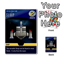 Star Pirates Fleet Wars By Victor Flu   Multi Purpose Cards (rectangle)   N6jqnd7qv2gn   Www Artscow Com Front 26