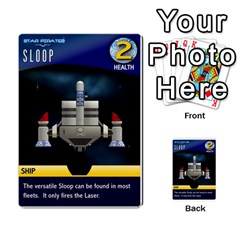 Star Pirates Fleet Wars By Victor Flu   Multi Purpose Cards (rectangle)   N6jqnd7qv2gn   Www Artscow Com Front 27
