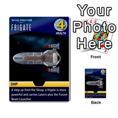 Star Pirates Fleet Wars By Victor Flu   Multi Purpose Cards (rectangle)   N6jqnd7qv2gn   Www Artscow Com Front 29