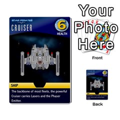 Star Pirates Fleet Wars By Victor Flu   Multi Purpose Cards (rectangle)   N6jqnd7qv2gn   Www Artscow Com Front 33