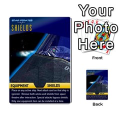 Star Pirates Fleet Wars By Victor Flu   Multi Purpose Cards (rectangle)   N6jqnd7qv2gn   Www Artscow Com Front 34