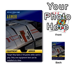 Star Pirates Fleet Wars By Victor Flu   Multi Purpose Cards (rectangle)   N6jqnd7qv2gn   Www Artscow Com Front 37