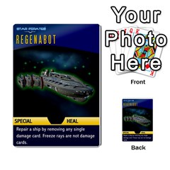 Star Pirates Fleet Wars By Victor Flu   Multi Purpose Cards (rectangle)   N6jqnd7qv2gn   Www Artscow Com Front 44