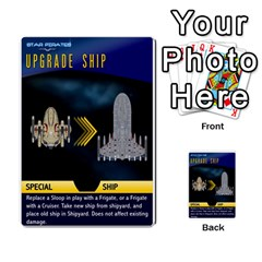 Star Pirates Fleet Wars By Victor Flu   Multi Purpose Cards (rectangle)   N6jqnd7qv2gn   Www Artscow Com Front 48