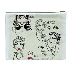 Shower By Cheryl   Cosmetic Bag (xl)   Mh9mdfo4jkxw   Www Artscow Com Back