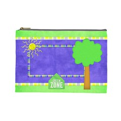 Celebrate In The Sun Large Cosmetic Bag 1 By Lisa Minor   Cosmetic Bag (large)   5wpghhfpip8j   Www Artscow Com Front