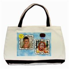Our Little Angel Boy Two Sided Bag By Chere s Creations   Basic Tote Bag (two Sides)   Gn2nnn3t7xjh   Www Artscow Com Back