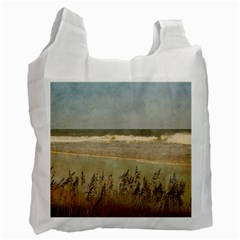 Beach Recycle Bag By Eleanor Norsworthy   Recycle Bag (two Side)   Uuqmco7mmlck   Www Artscow Com Front