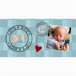 It s a Boy Photo Cards - 4  x 8  Photo Cards