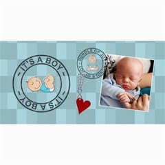 It s A Boy Photo Cards By Lil    4  X 8  Photo Cards   Uynqvnioh29f   Www Artscow Com 8 x4 Photo Card - 9