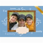 Family card - 5  x 7  Photo Cards
