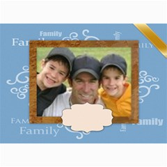 Family Card By Joely   5  X 7  Photo Cards   Ilck9fis7opz   Www Artscow Com 7 x5 Photo Card - 5