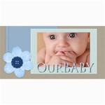 our baby - 4  x 8  Photo Cards