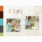 colorful of life - 5  x 7  Photo Cards