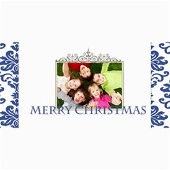 Merry Christmas By Wood Johnson   4  X 8  Photo Cards   8tjm355cn0ez   Www Artscow Com 8 x4 Photo Card - 8