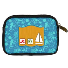 Sunshine Beach Camera Bag 1 By Lisa Minor   Digital Camera Leather Case   Gnwca1osz359   Www Artscow Com Back