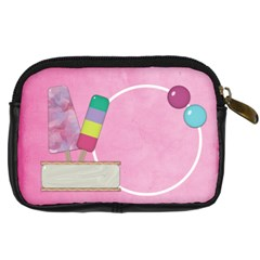 Picadilly Summer Camera Case 1 By Lisa Minor   Digital Camera Leather Case   87y4cy12gbf9   Www Artscow Com Back
